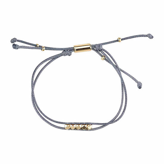 Womens Silver Over Brass Wrap Bracelet