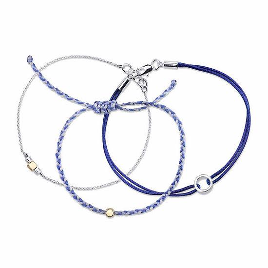 3-pc. 7.5 Inch Bracelet Set