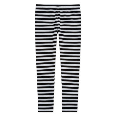 Okie Dokie Stripe Knit Leggings - Preschool Girls