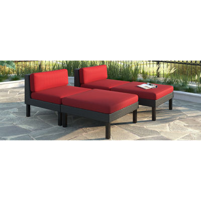 Oakland 4 Piece Lounger