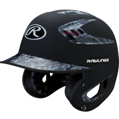Rawlings 80mph Two-Tone Digi Navy Juniors BaseballHelmet