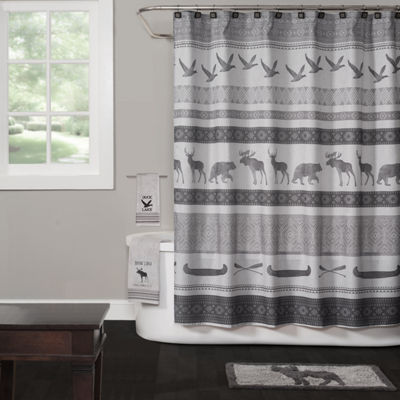 Saturday Knight Wilderness Calling Shower Curtain