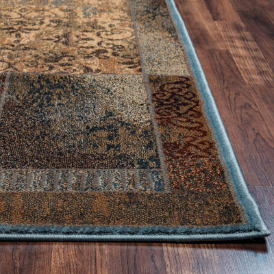 Rizzy Home Bellevue Patchwork Rectangular Rugs