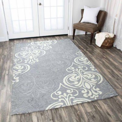 Rizzy Home Lancaster Ornamental Rectangular Indoor Runner