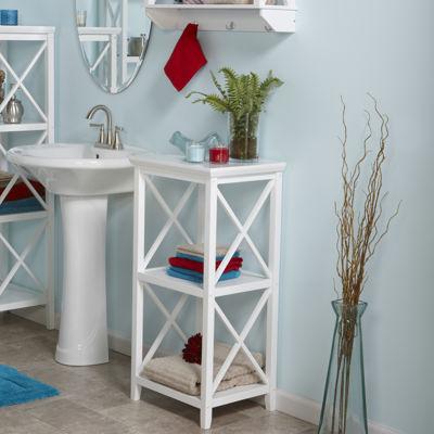 RiverRidge® X- Frame Bath Collection - 3-Shelf Storage Tower