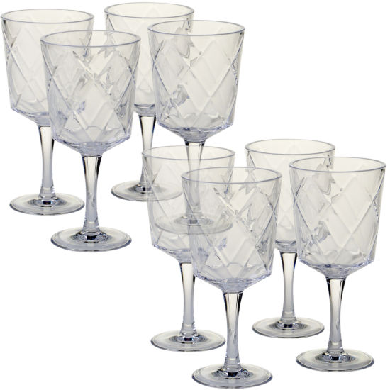 Certified International Acrylic Goblets 8-pc. Goblet