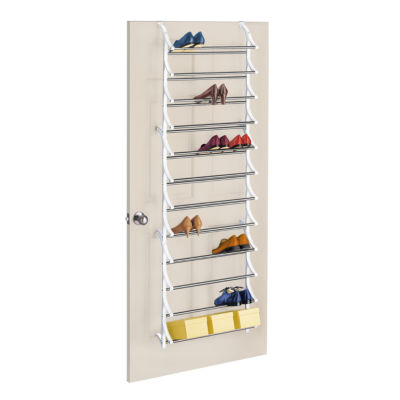 LYNK® 36-Pair Over-the-Door Shoe Rack