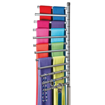 Lynk® Floor Standing Pivoting Scarf Organizer