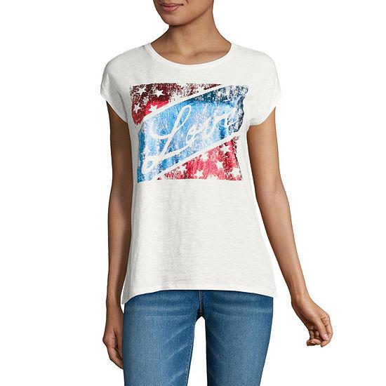 i jeans by Buffalo Short Sleeve Americana Graphic Tee
