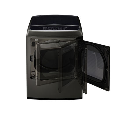 LG ENERGY STAR® 7.3 Cu.Ft. Capacity Front Control Electric SteamDryer™