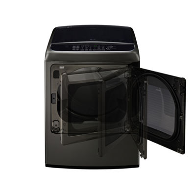 LG ENERGY STAR® 7.3 cu.ft. Capacity Smart Wi-Fi Enabled Front Control Electric SteamDryer™