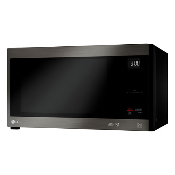LG 1.5 cu. ft. Countertop Microwave Oven with Hexagonal Ring and Sensor Cooking