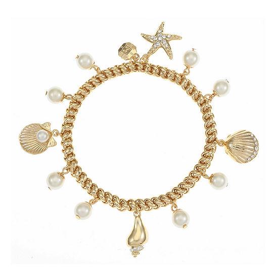 Monet Jewelry Charm Bracelet