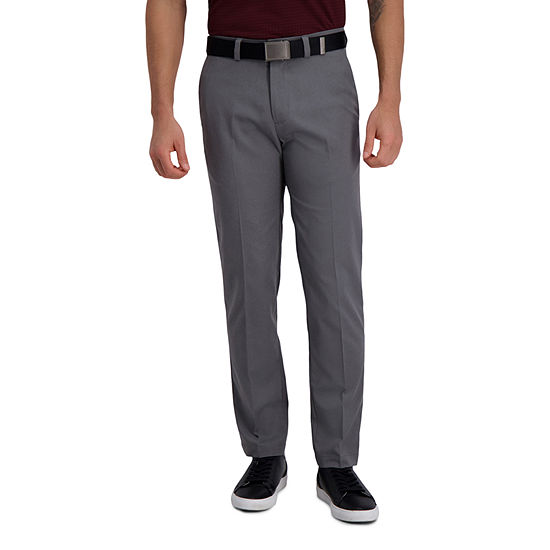Haggar Cool Right Performance Flex Straight Fit Flat Front Men's Pant