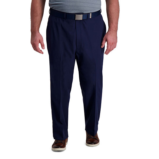 Haggar-Big Cool Right Performance Flex Mens Classic Fit
