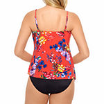 Vanishing Act By Magic Brands Slimming Control Floral Tankini Swimsuit Top or Swimsuit Bottom