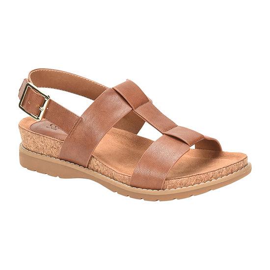 Eurosoft Lani Womens Ankle Strap Footbed Sandals
