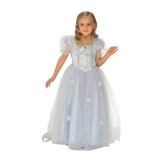 Girls Blue Ice Princess Costume Girls Costume