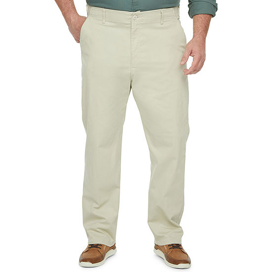 Lee® Extreme Comfort Men's Straight Fit Khaki Pants – Big and Tall