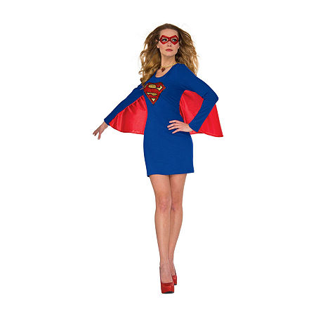 Womens Supergirl Cape Dress With Wing Costume Costume Costume, Medium-large , Multiple Colors
