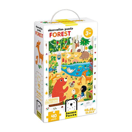 Observation Puzzle - Forest: 40 Pcs