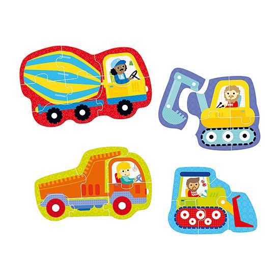 Hands at Play  22 Pcs Puzzle - Construction Vehicles