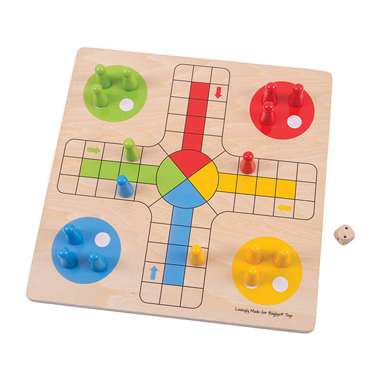 Wooden Traditional Ludo