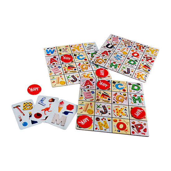 Briarpatch The Original I Spy Bingo Match 'N Play Challenge