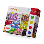 Early Learning - Color City Floor Puzzle With Placemat: 24 Pcs