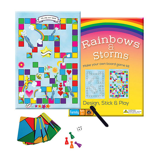 Griddly Games Rainbows & Storms