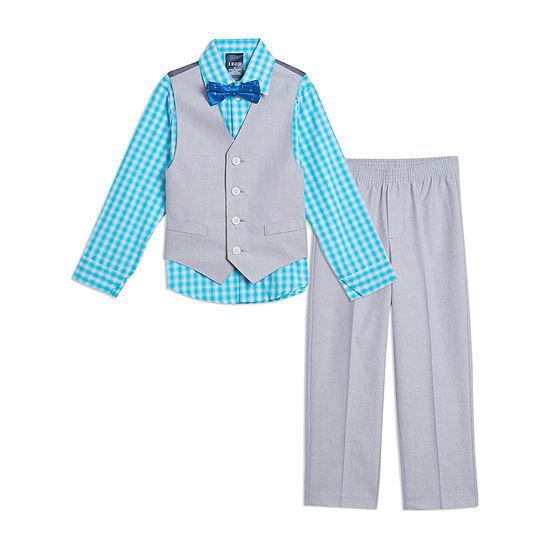 IZOD Little & Big Boys 4-pc. Suit Set