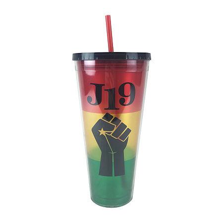 Haynes Besco Group Juneteenth 32 Oz Acrylic Tumbler Glass, One Size , Multiple Colors