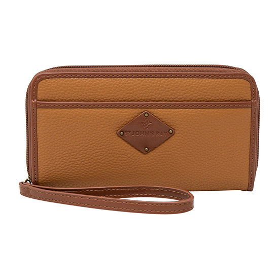 St. John's Bay Zip Around Wallet