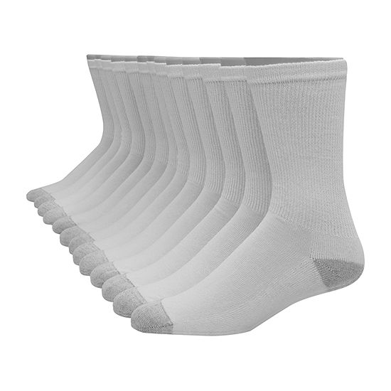 Hanes Ultimate Mens 12 Pair Crew Socks
