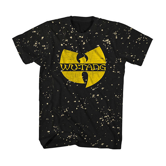 Wu-Tang Mens Crew Neck Short Sleeve Music Graphic T-Shirt