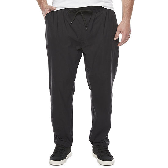 Stylus Big & Tall Mens Pull-On Stretch Woven Pants