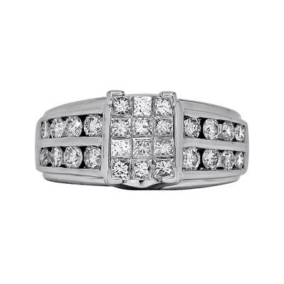 LIMITED QUANTITIES 2 CT. T.W. Diamond 14K White Gold Engagement Ring