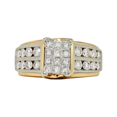 LIMITED QUANTITIES 2 CT. T.W. Diamond 14K Two-Tone Gold Engagement Ring