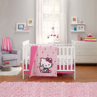 NoJo® Sanrio Hello Kitty 3-pc. Bedding Set