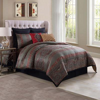 Genoa Ma Maison 8-Pc. Jacquard Comforter Set