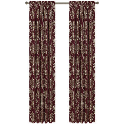 Queen Street® Distinction 2-Pack Rod-Pocket Curtain Panels