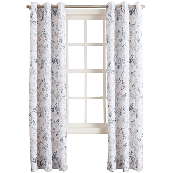 Rosalyn Grommet-Top Curtain Panel