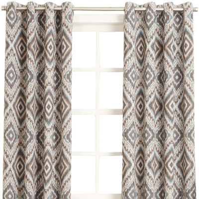 Sun Zero™ Santee Grommet-Top Curtain Panel