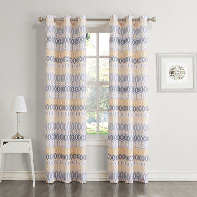 Roxana Grommet-Top Curtain Panel