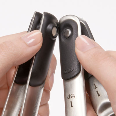 OXO® Stainless Steel Magnetic Measuring Spoons