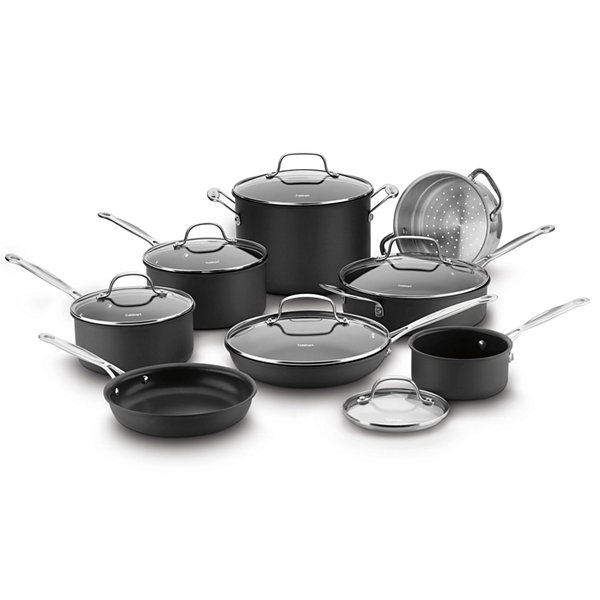 Cuisinart® Chef's Classic™ 14-pc. Hard Anodized Cookware Set