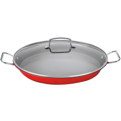 "Cuisinart® Non-Stick 15"" Paella Pan With Lid"