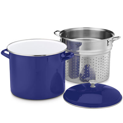 Cuisinart® Chef's Classic™ 3-pc. Enamel On Steel 20-qt. Steaming Set