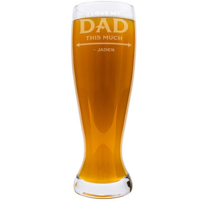 Cathy's Concepts Personalized Father's Day Xl Pilsner Glass