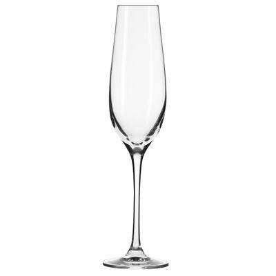 Krosno Nina Set Of 6 Champagne Flutes